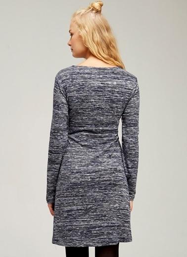 Emzirme Özellikli Bağcıklı Hamile Elbisesi-Hooyo